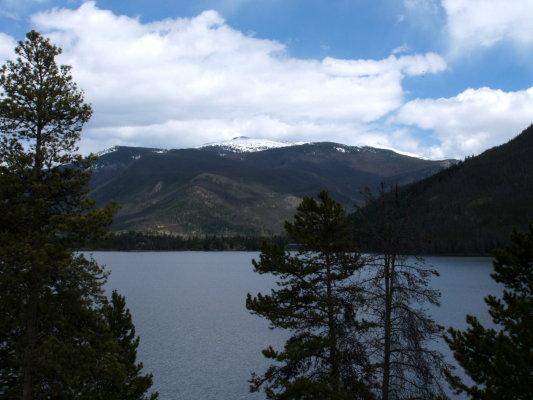 Shadow Mountain Lake Rocky Mountain National Park Colorado